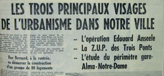 Document la Voix du Nord 1962