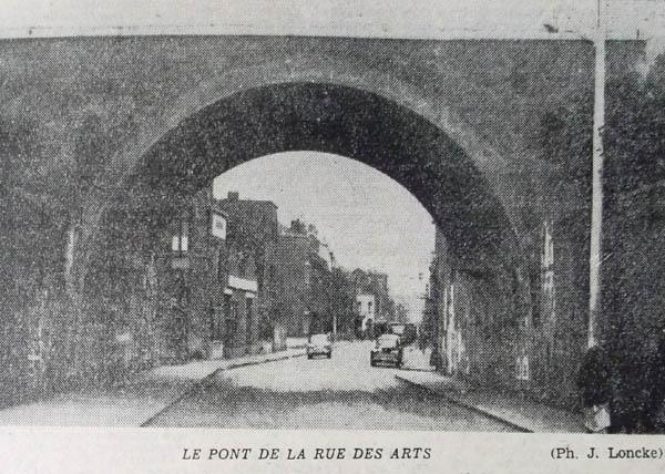 Le pont dans les années 50 - Photo Nord Matin