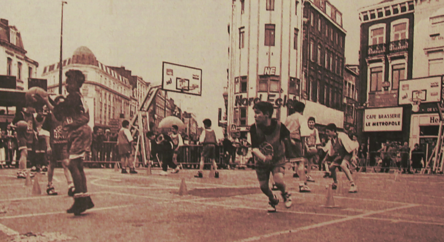 Le basket sur la Grand Place Photo NE