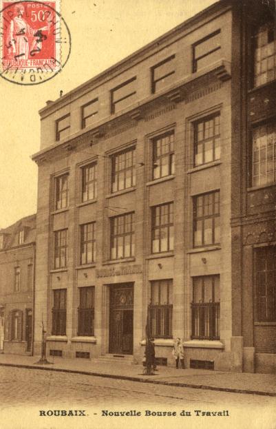 La bourse de travail boulevard de Belfort CP Méd Rx