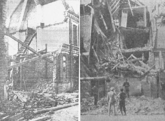 Bombardement du Pile août 1941 Photo JdeRx