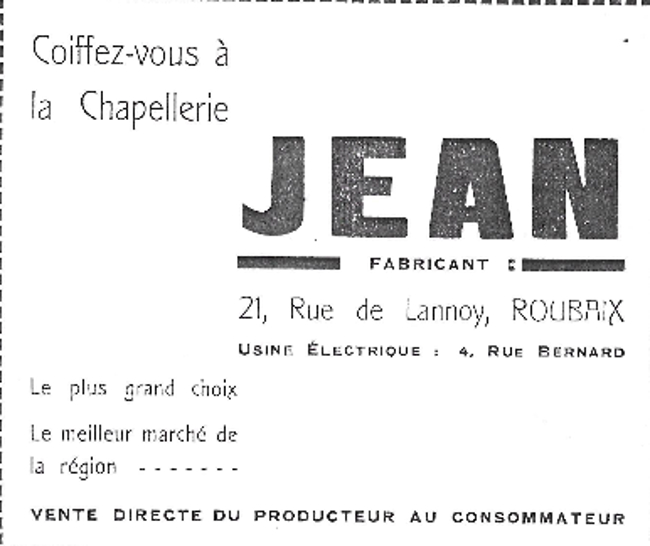 Le chapelier Jean Déarx Coll Particulière