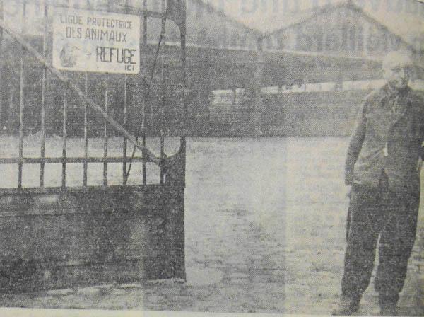 Le refuge rue Mascara en 1959 – photo la voix du Nord