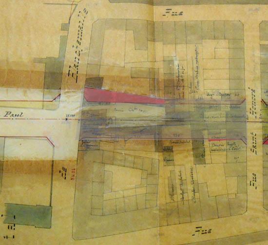 Plan parcellaire 1872
