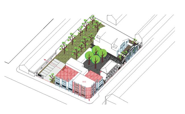Projet immobilier sur le site