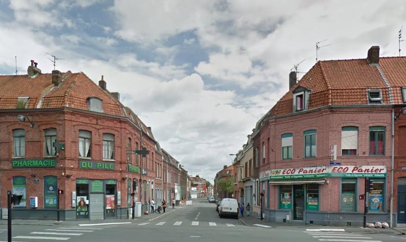 Au carrefour de la rue Pierre de Roubaix Photo Google Maps