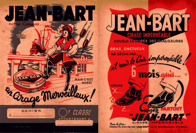 Les protège-cahiers Jean Bart Coll Particulière