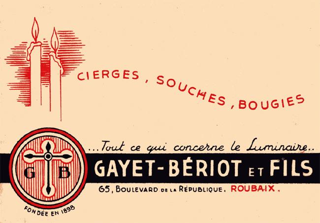 La société Gayet Bériot Coll Particulière