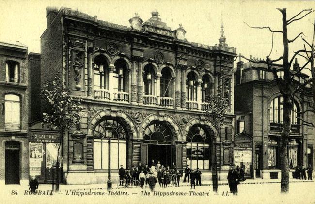 L'hippodrome théâtre de Roubaix CP Méd Rx