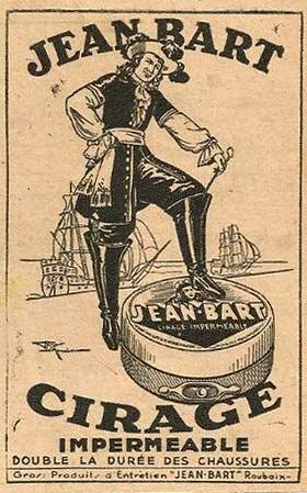 Jean Bart et son cirage Pub JdeRx