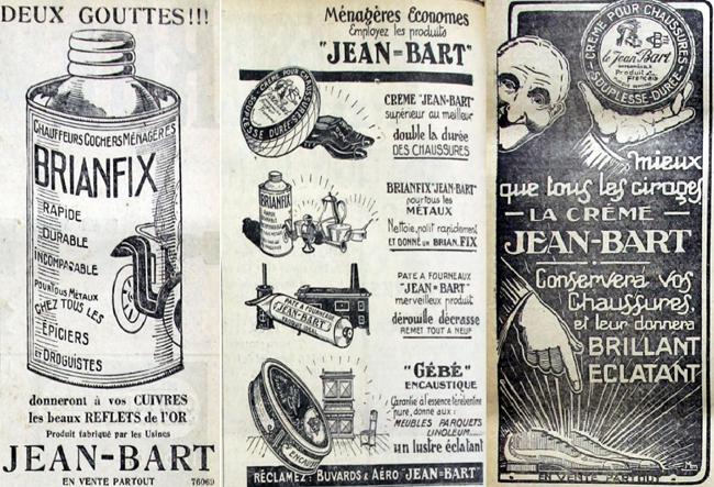 Les produits Jean Bart pubs JdeRx