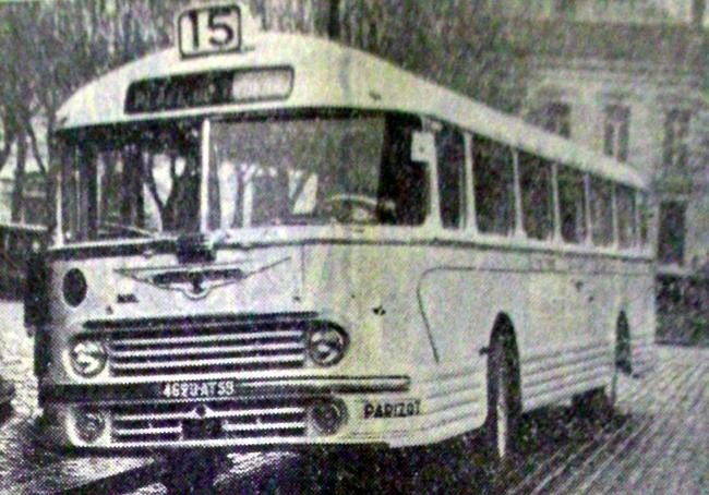 Bus de la ligne 15 Photo NE