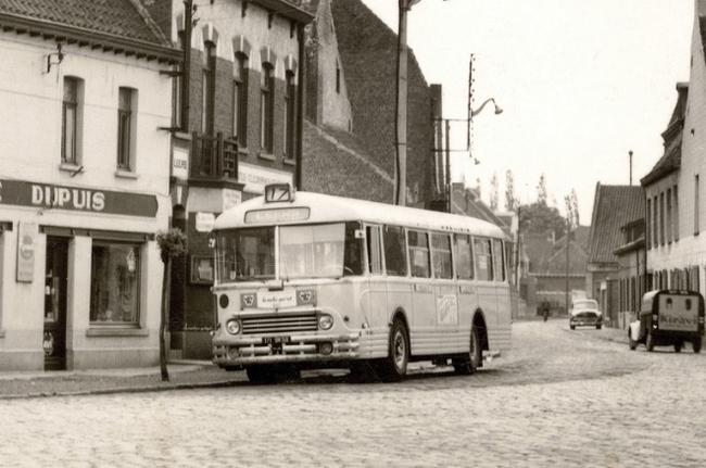 Bus de la ligne 17 Coll Particulière