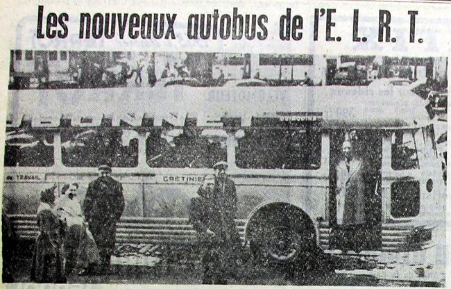 La présentation des bus en présence de Victor Provo Photo NE