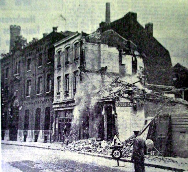 Les démolitions de 1971 Photo NE