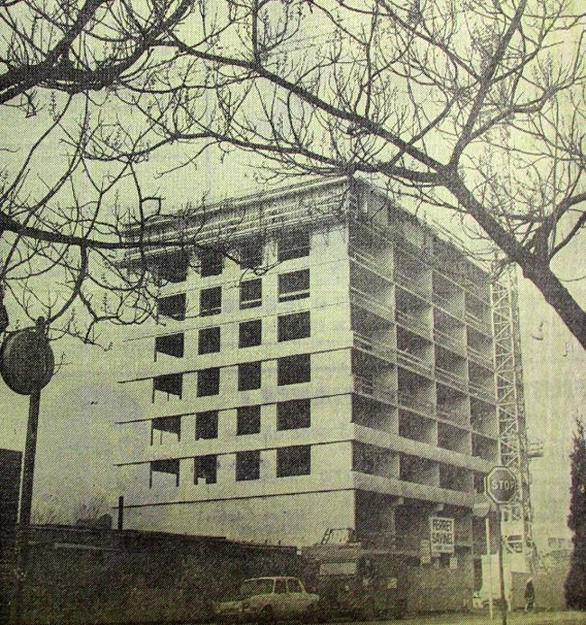 La tour en 1975 Photo NE