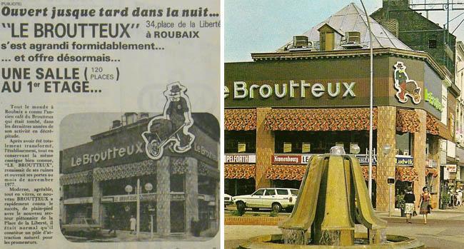 à gauche: Nord Eclair 1978, à droite, coll. particulière