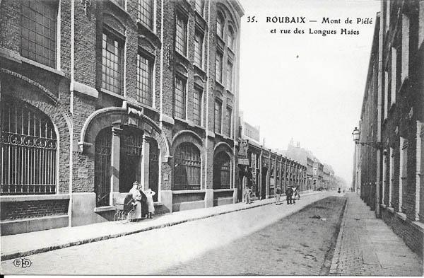 Mont de Piété rue des Longues Haies ( coll privée )