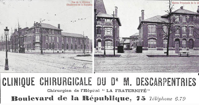 La clinique Descarpentries (coll privée )