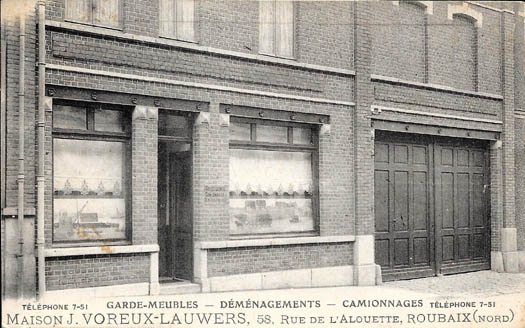 façade rue de l'Alouette ( collection privée )